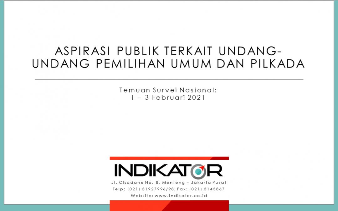 Rilis Indikator 08 Februari 2021